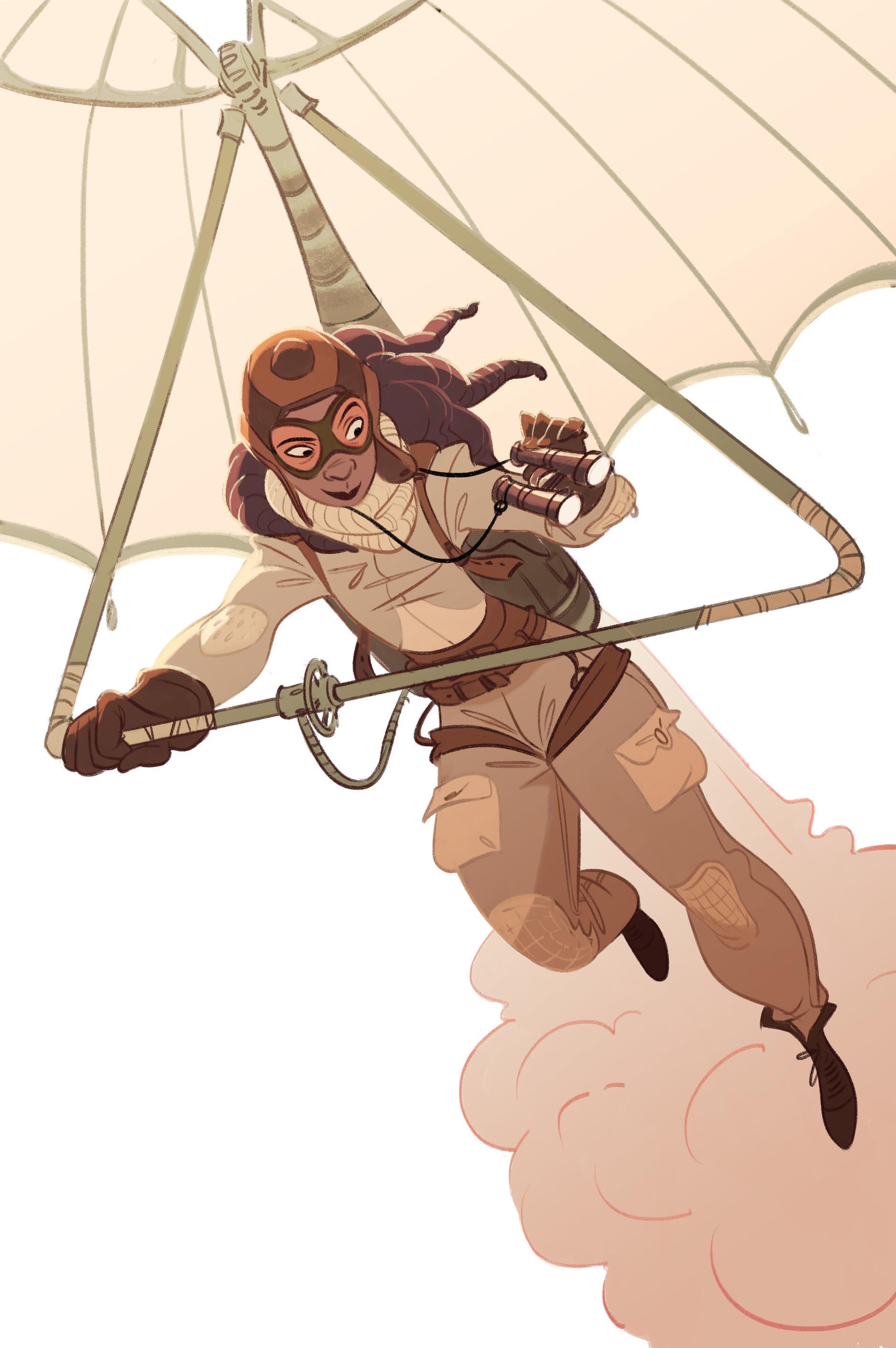 Steampunk Explorer by Cécile Carre 1