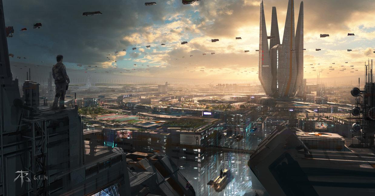 Elliptical City by Tu Bui 1