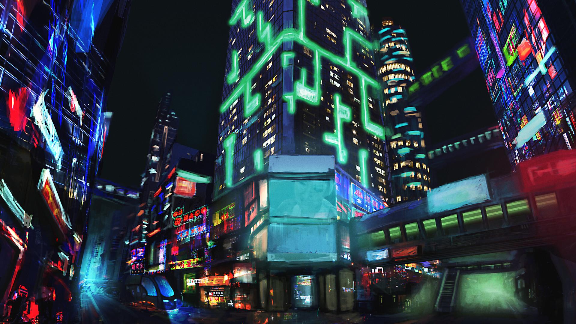 CyberCity by Kirill Marev 1