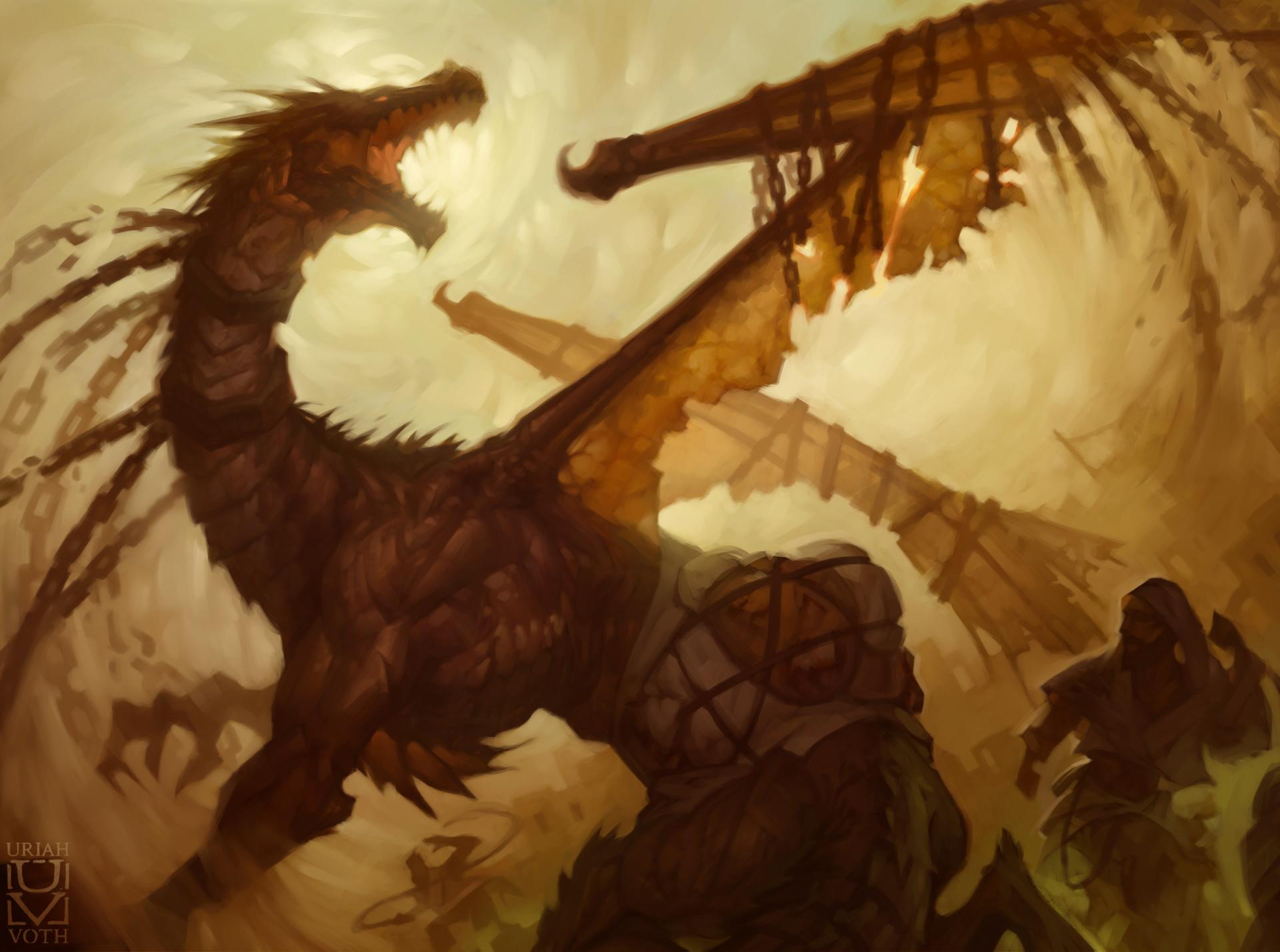 Enslaved Dragon by Uriah Voth 1