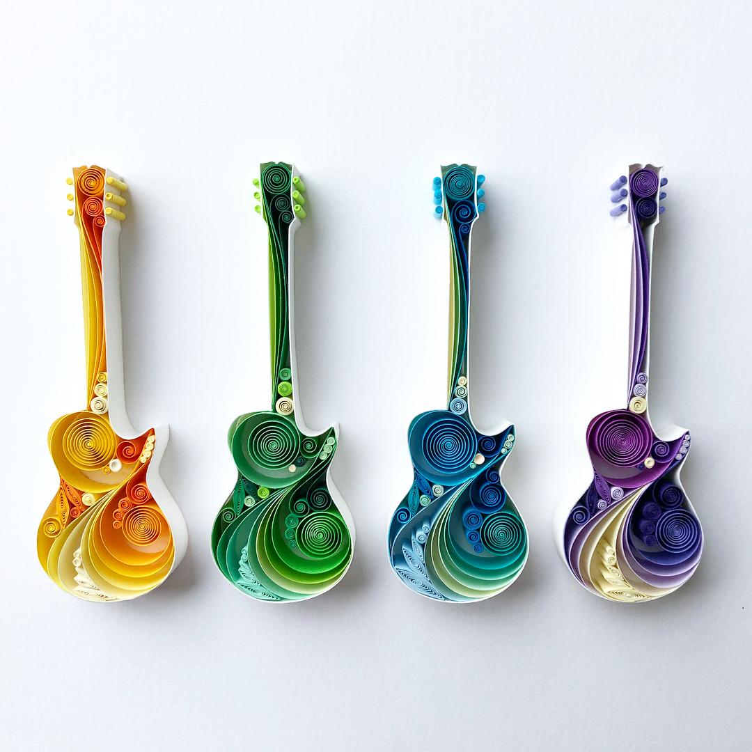 Guitares de papier – Sena Runa