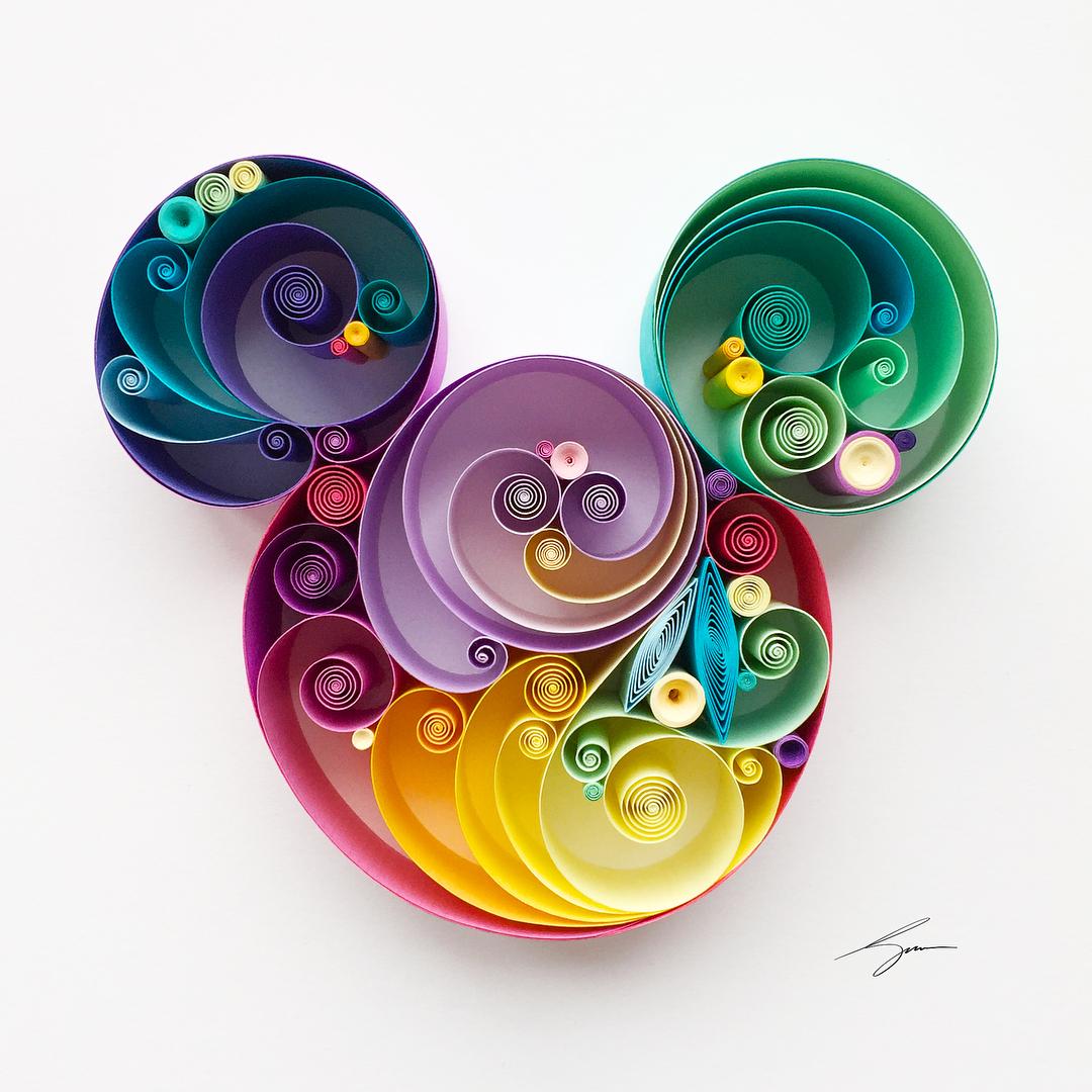 Mickey coloré – Sena Runa