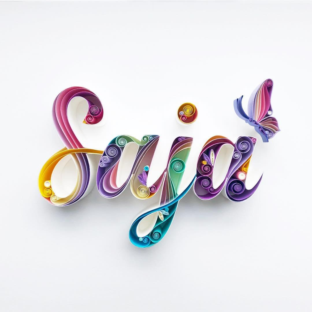 Typographie (Saja) – Sena Runa