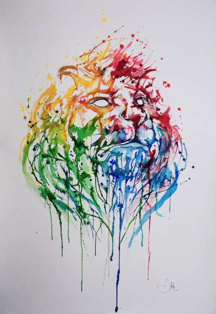 Marc allante pluie de couleurs l 39 artboratoire for Modern drawing styles