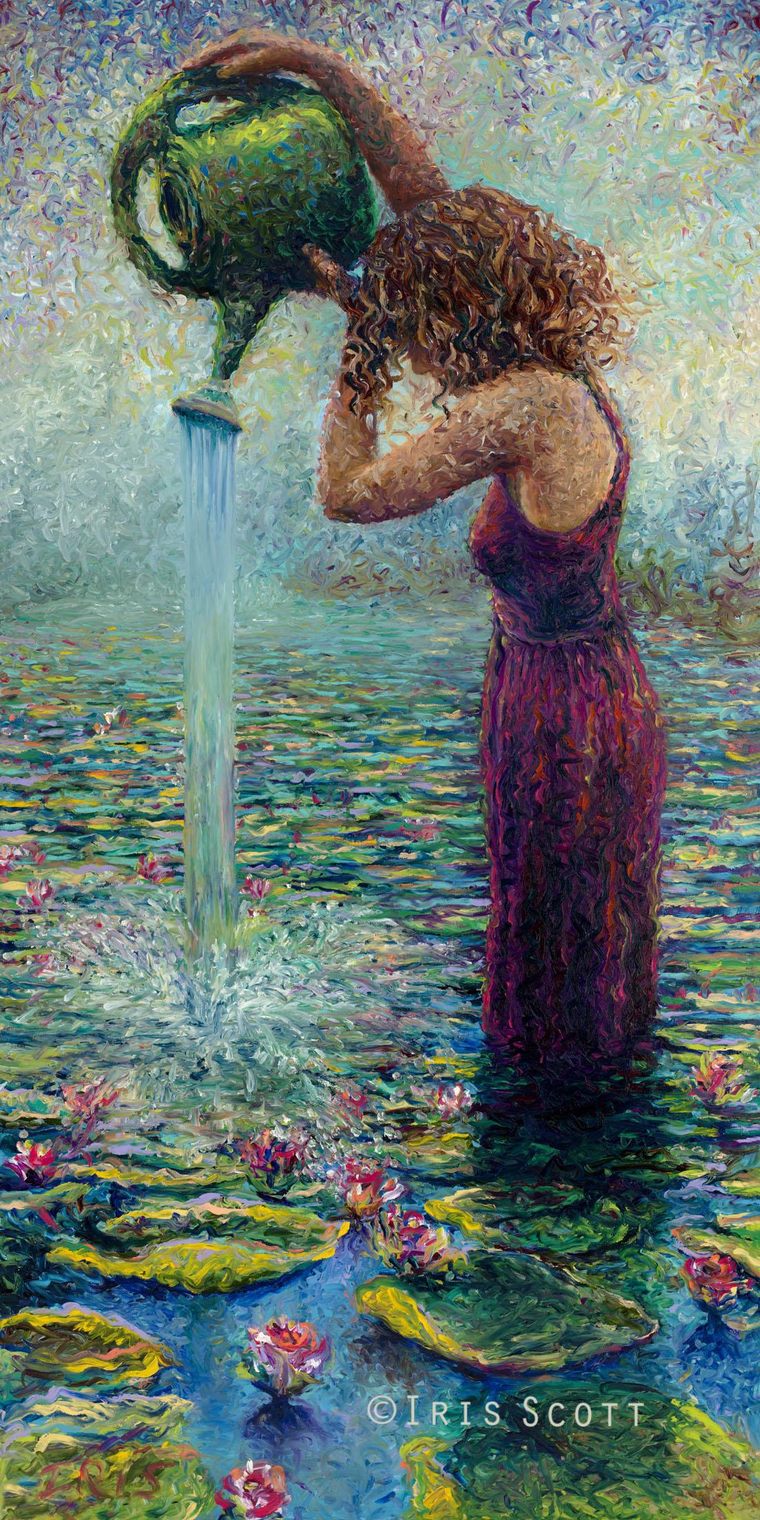 Thirsty Water Lilies – Iris Scott