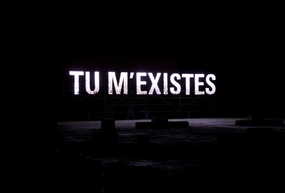 Tu m'existes © Baptiste Debombourg