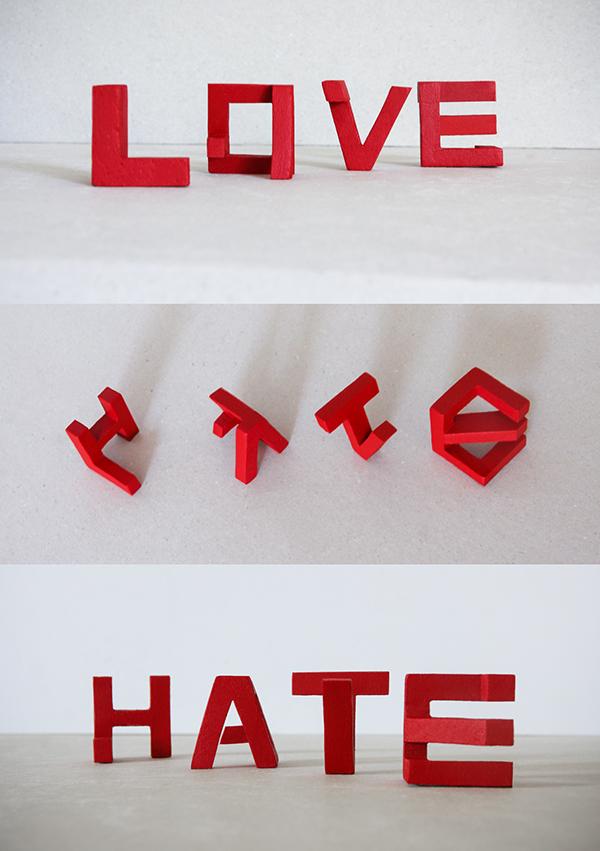Love / Hate © Lex Wilson
