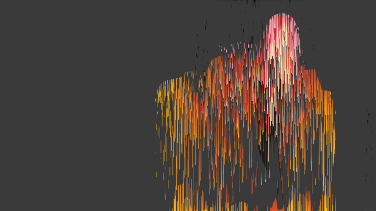 Pixel sorting - glitch art © L'artboratoire