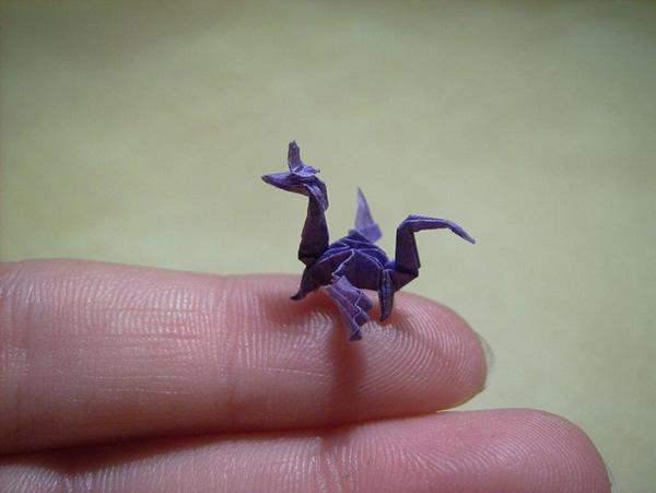 Nano origami © Anja Markiewicz