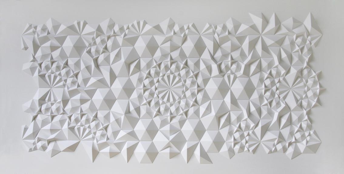 Origami géométrique © Matt Shlian
