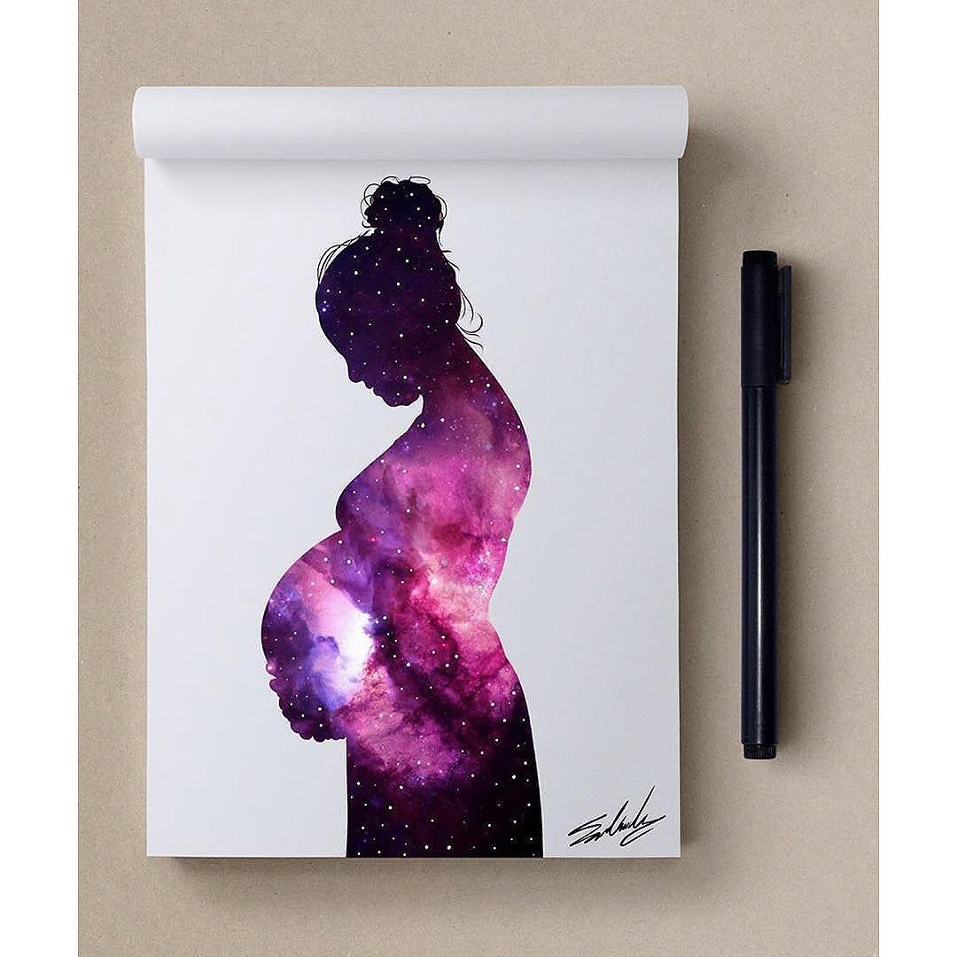 Femme enceinte © Mohamed Salah