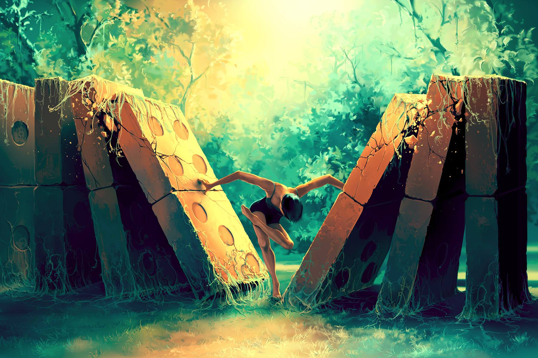 Dominos © Cyril Rolando