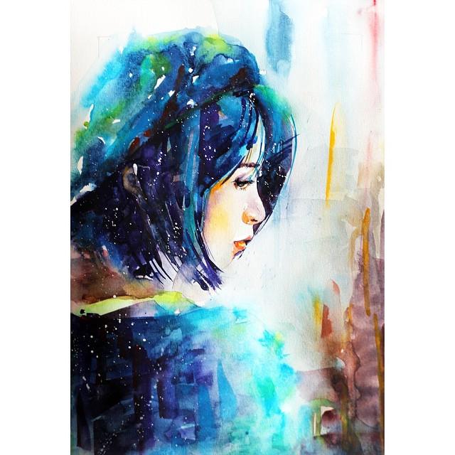 Portrait coloré #2 © liviing