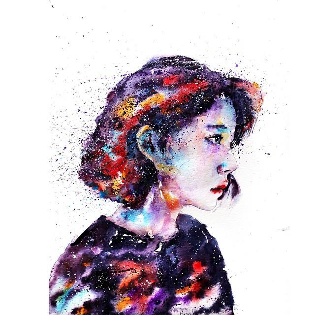 Portrait coloré #1 © liviing