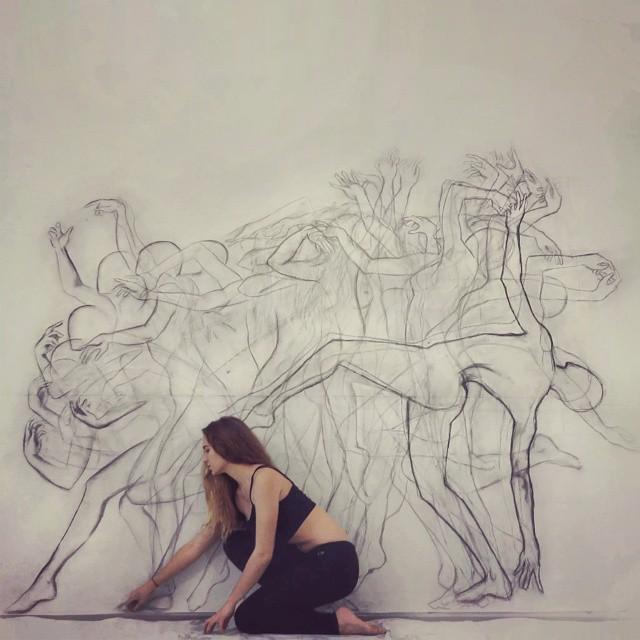 Danses esquissées © Zarah Abraham