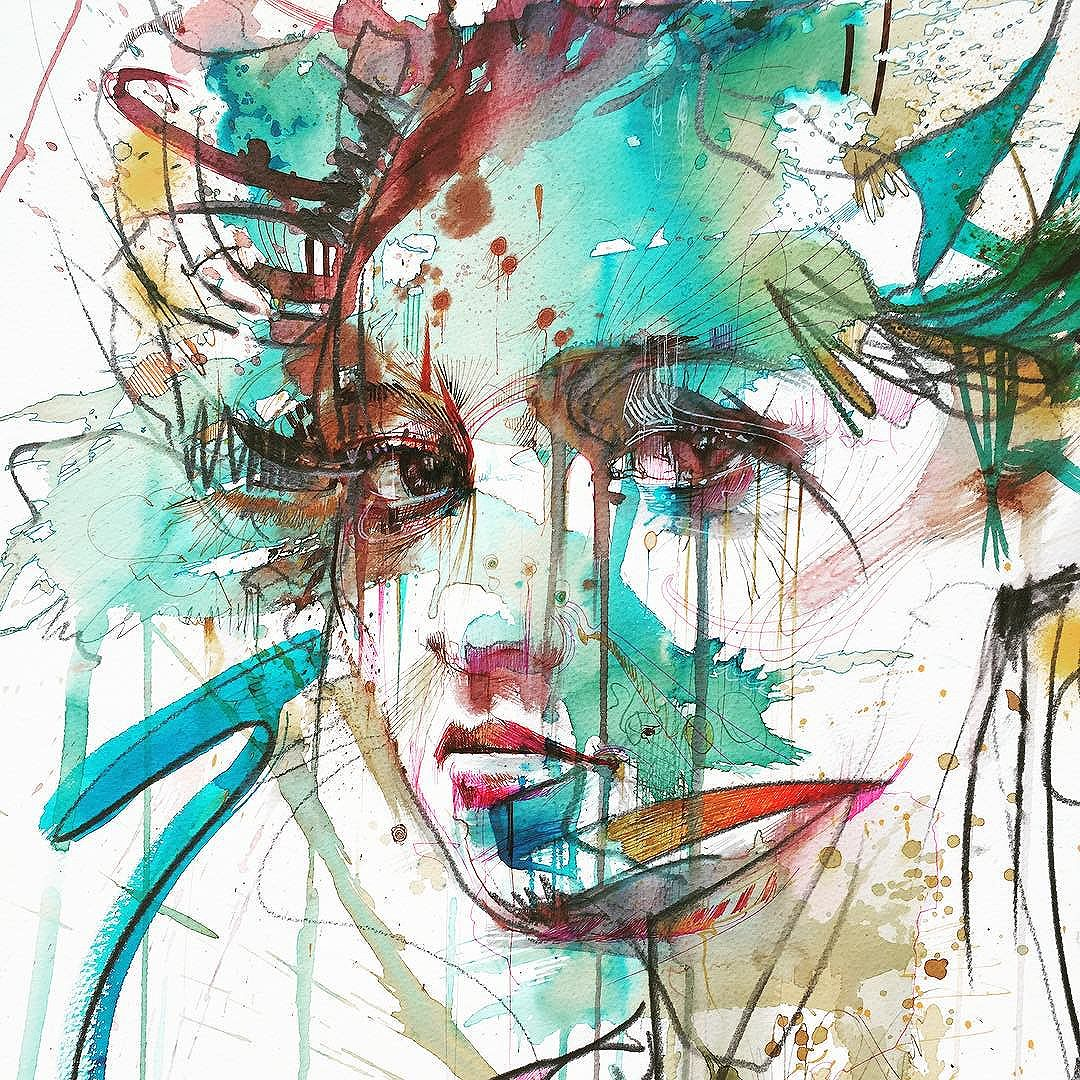 Trouble © Carne Griffiths