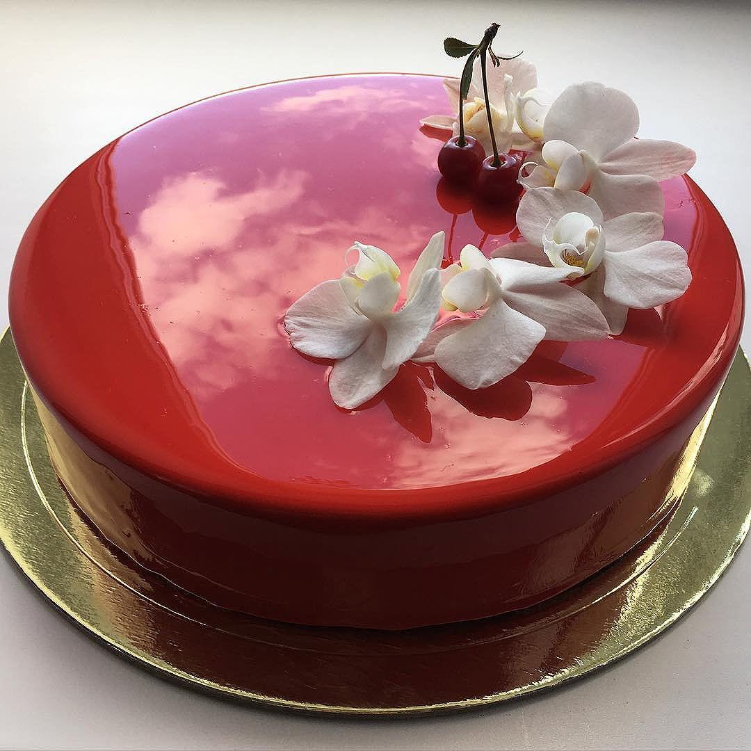 Gâteau et glaçage #1 (cerise) © Olga Noskkova