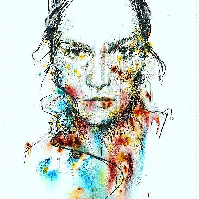 Overcome © Carne Griffiths