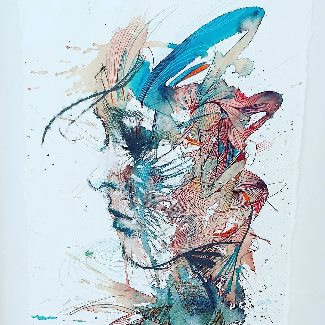 Momentary tranquility © Carne Griffiths