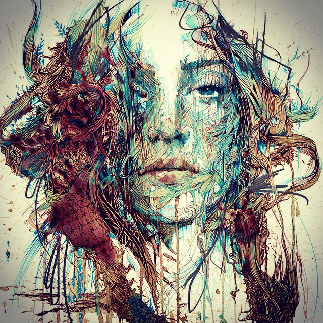 The Mystery © Carne Griffiths