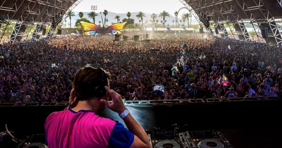 Flume au Coachella Festival