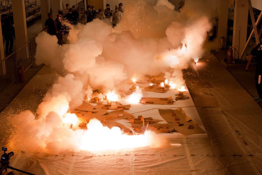 Mise à feu © Cai Guo-Qiang