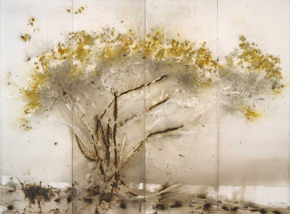 Arbre à fleurs jaunes © Cai Guo-Qiang