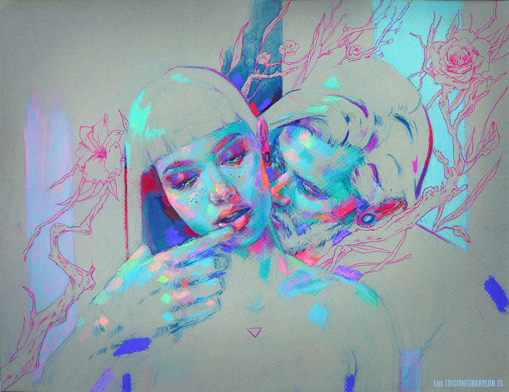 Intertwined lovers II © Marta Nael