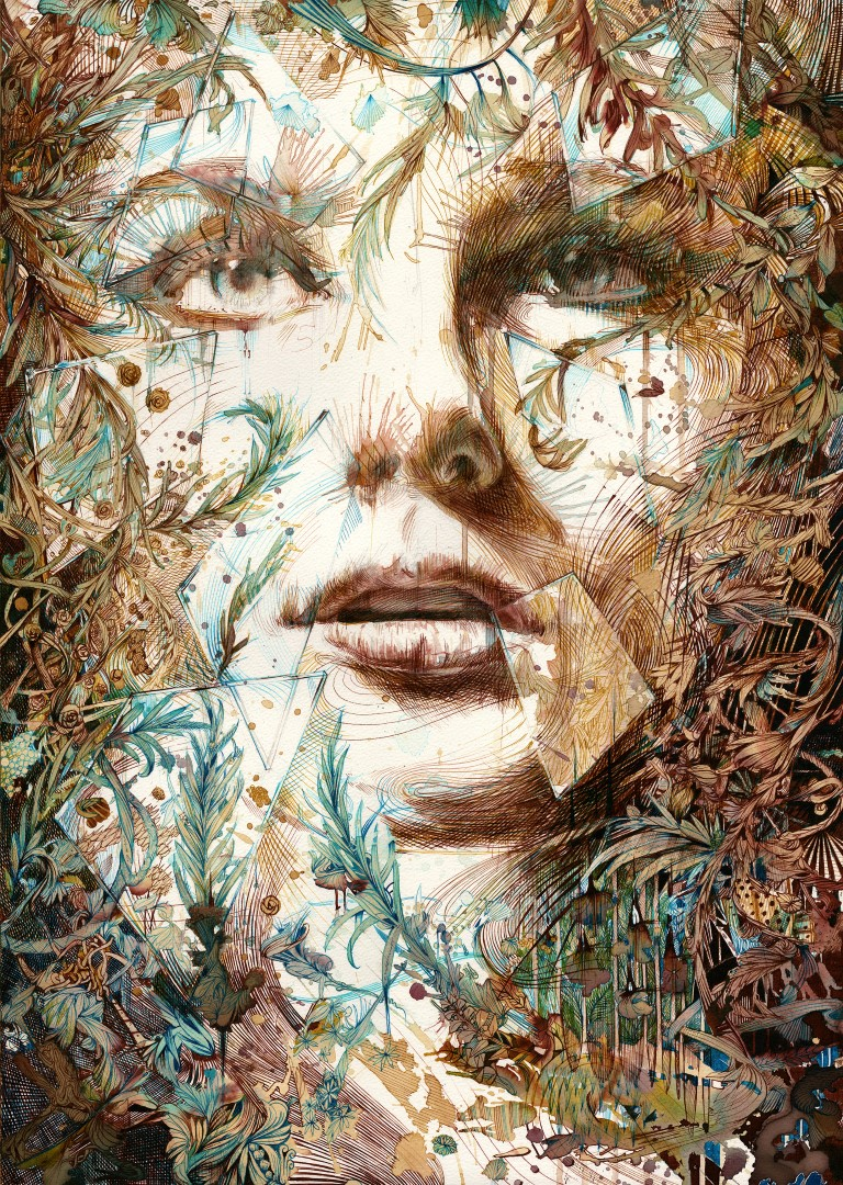 Just out of Reach © Carne Griffiths