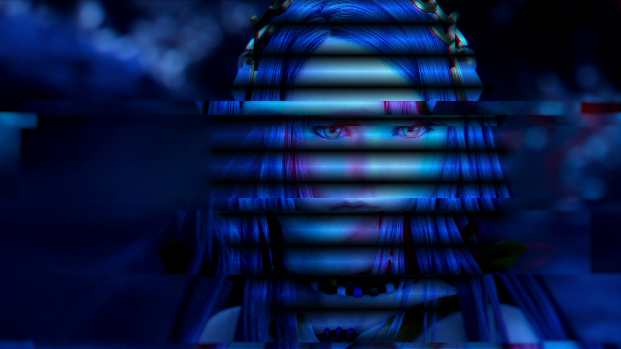 Glitch Yeul V1 – Hyacinth Aorchis