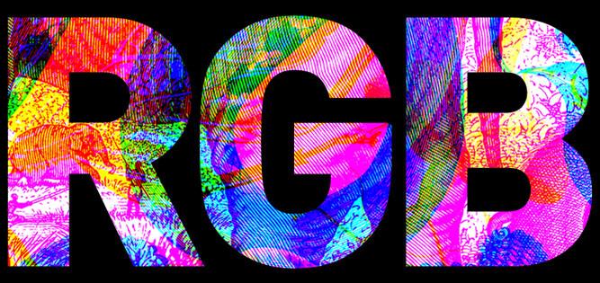 RGB par Carnovsky : œuvres en 3 couleurs - l'artboratoire