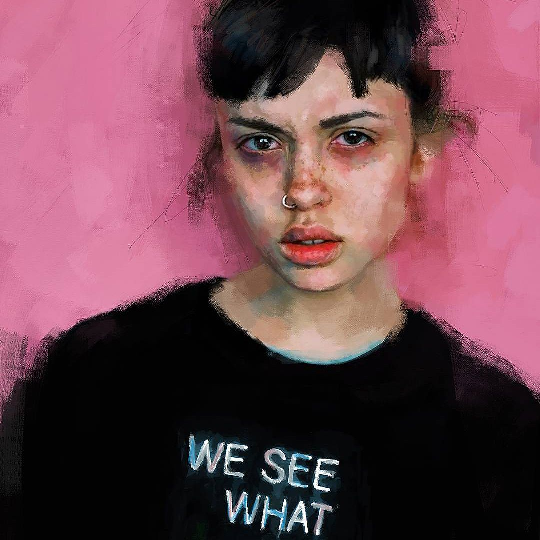 Emily Bador's portrait © Ivana Besevic