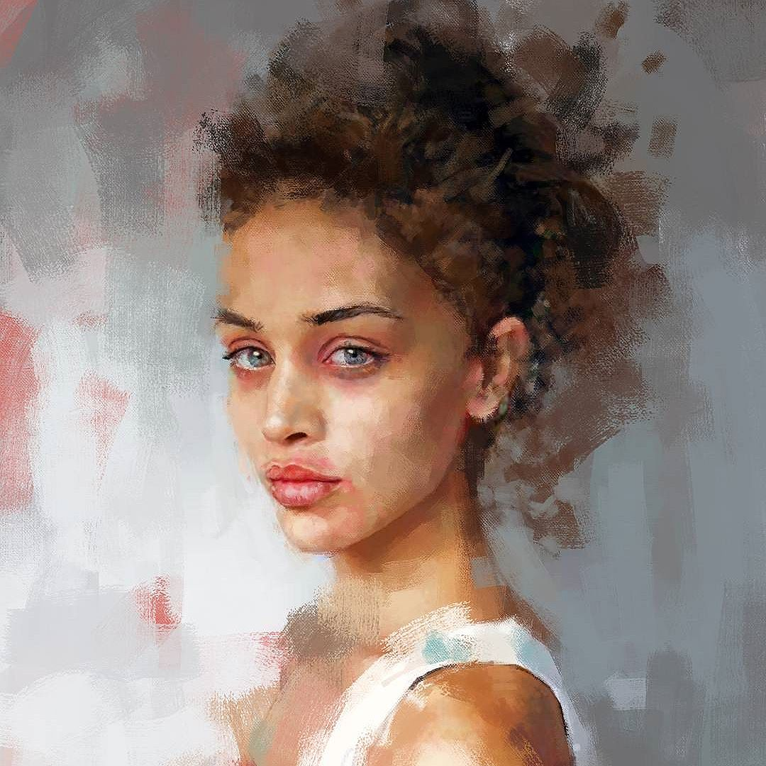 Portrait, modèle inconnu © Ivana Besevic