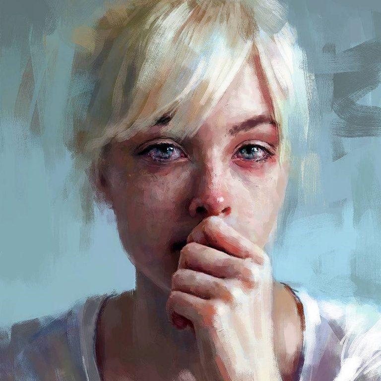 Crying study © Ivana Besevic