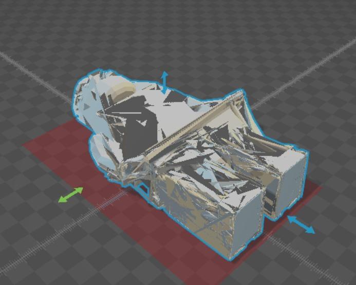 3D glitching sur un lego