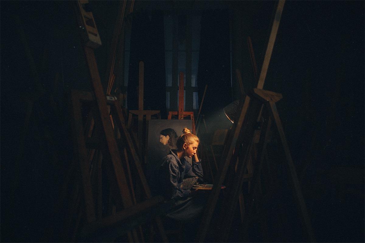 L'artiste © Dmitry Rogozhkin