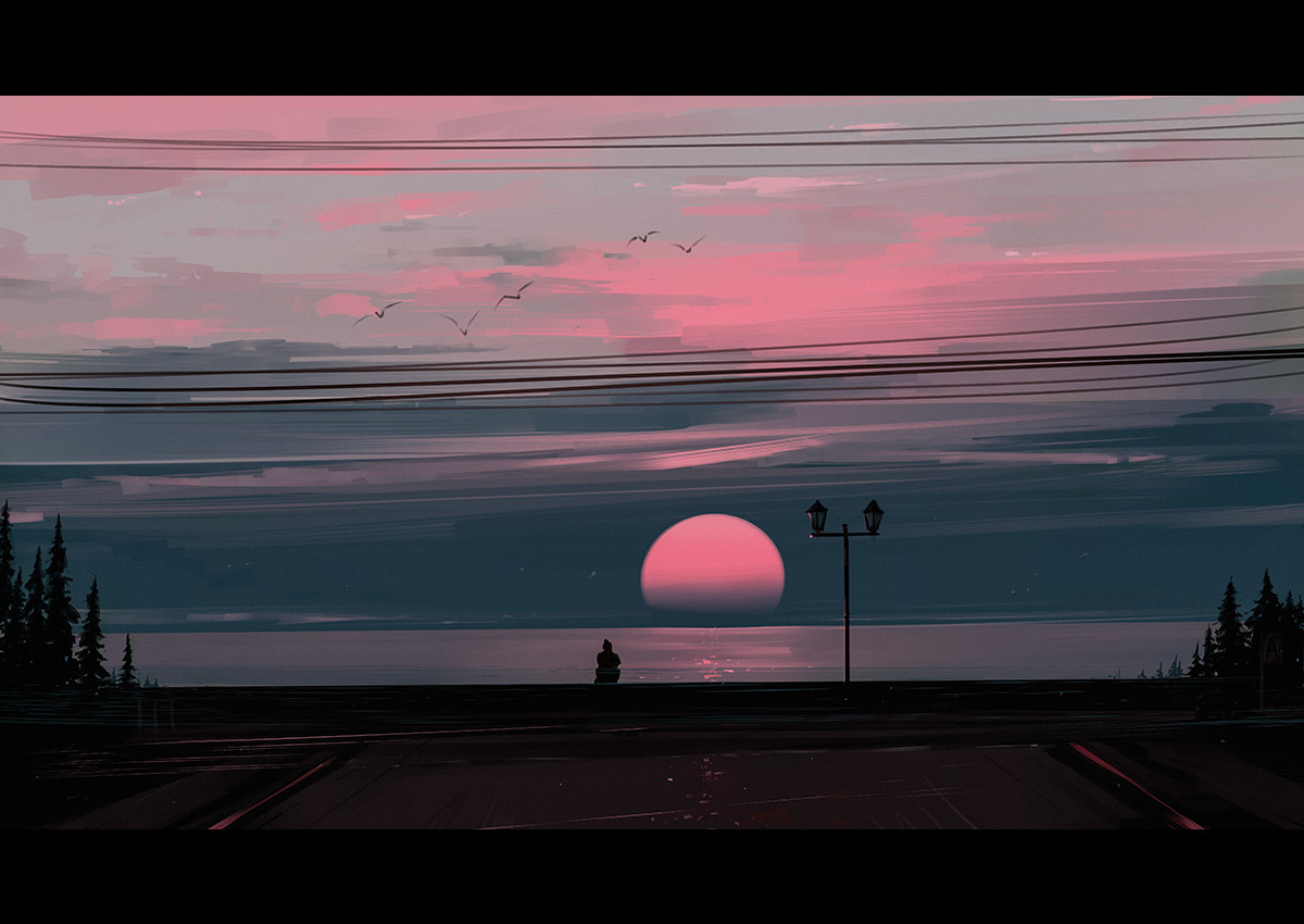 Soleil brumeux © Alena Aenami