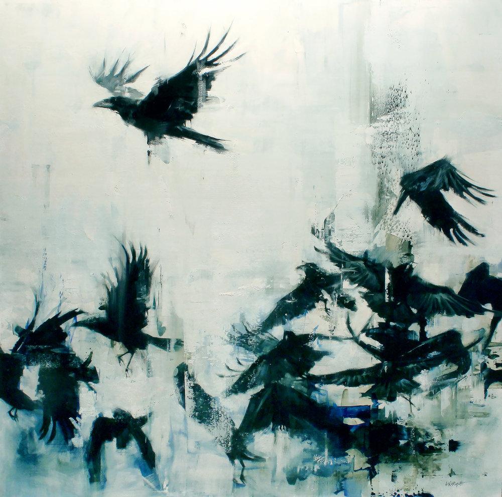 Vol de corbeaux © Lindsey Kustusch