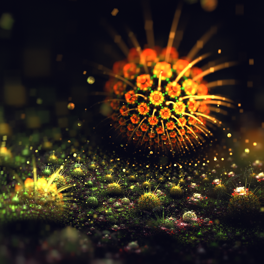 Musk and pollen © Lindelokse