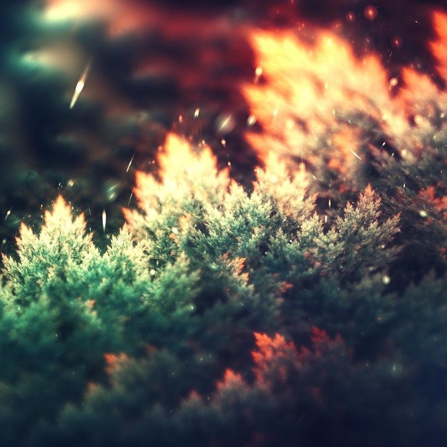 The great fire © Lindelokse