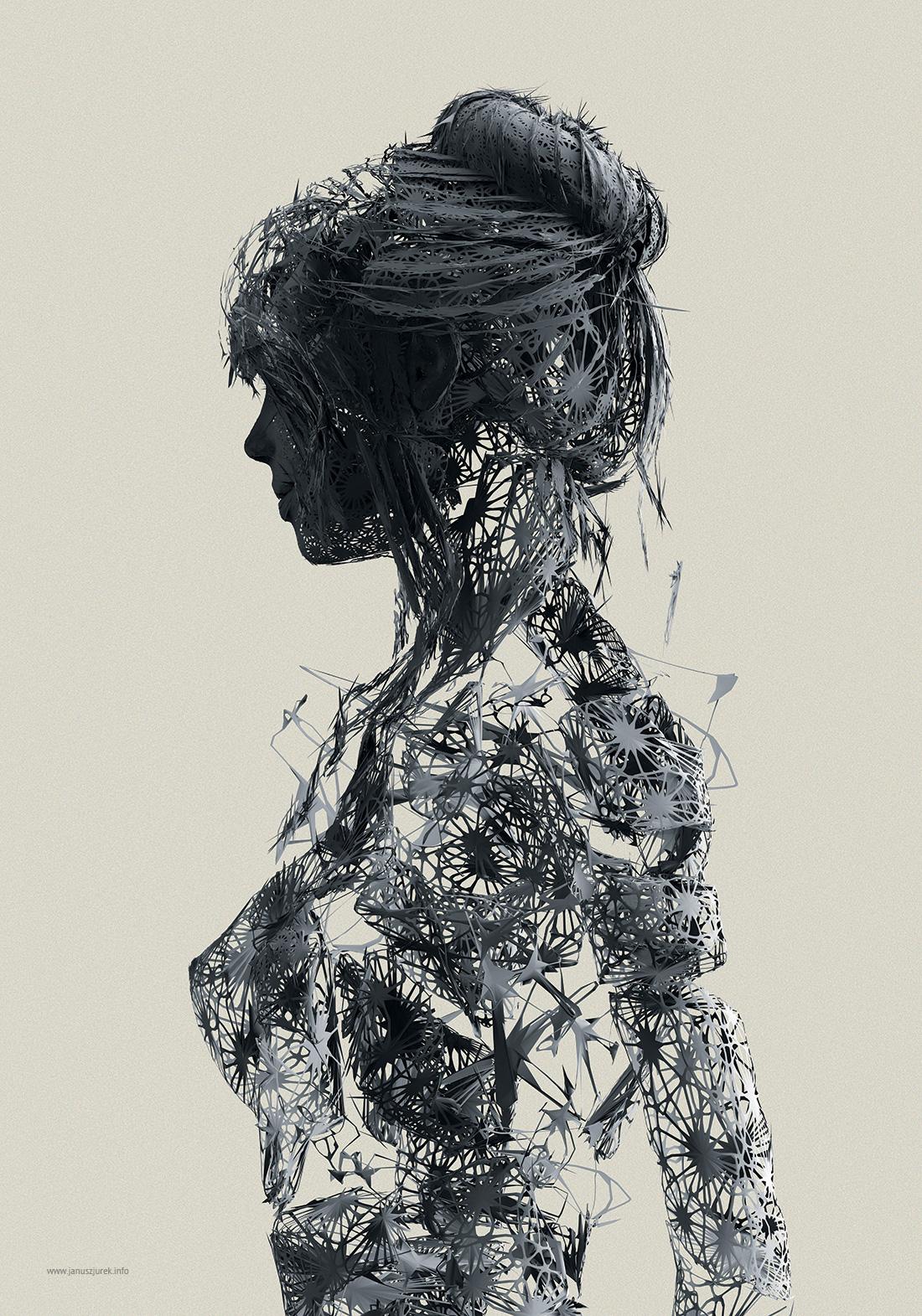 Femme de métal © Janusz Jurek