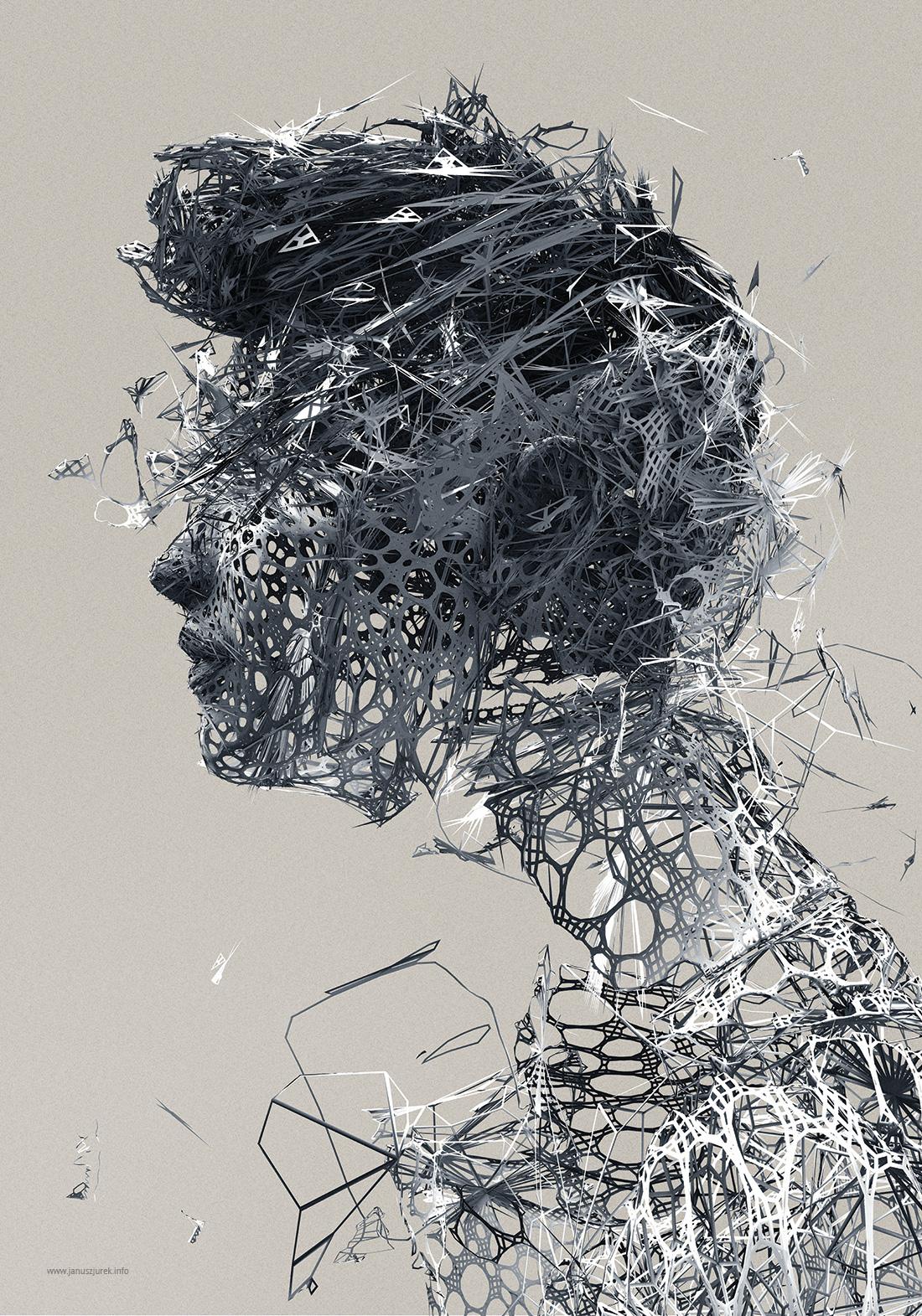 Portrait sculpté © Janusz Jurek