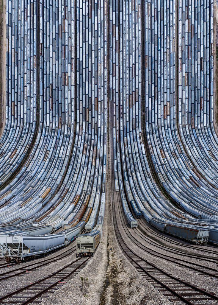 BNSF Yard © Aydin Büyüktaş