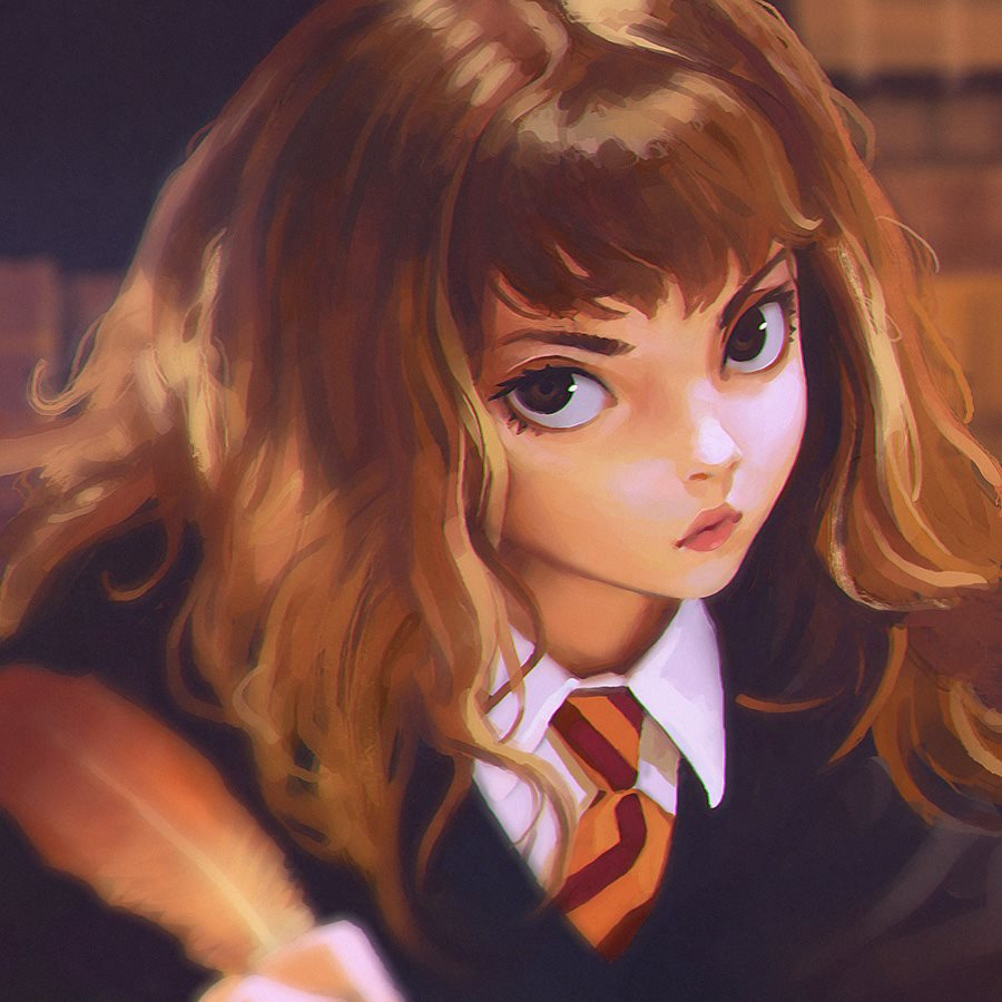 Hermione Granger (Harry Potter) © Ilya Kuvshinov
