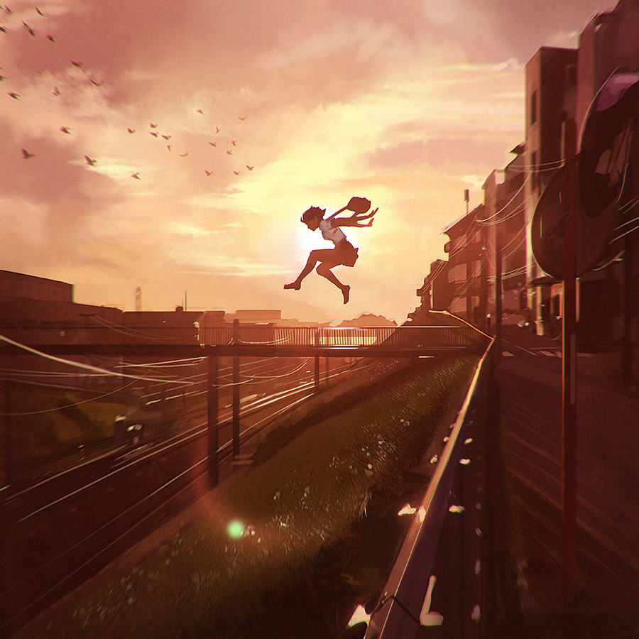Leap © Ilya Kuvshinov