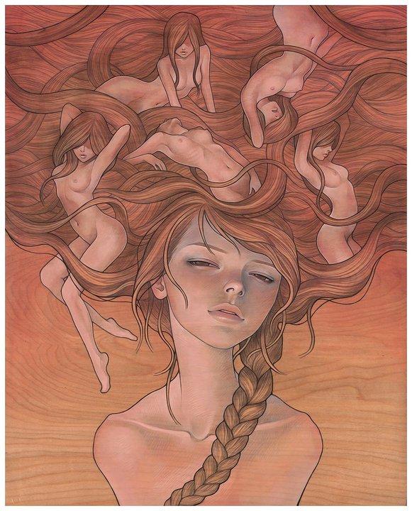 She Entwined © Audrey Kawasaki