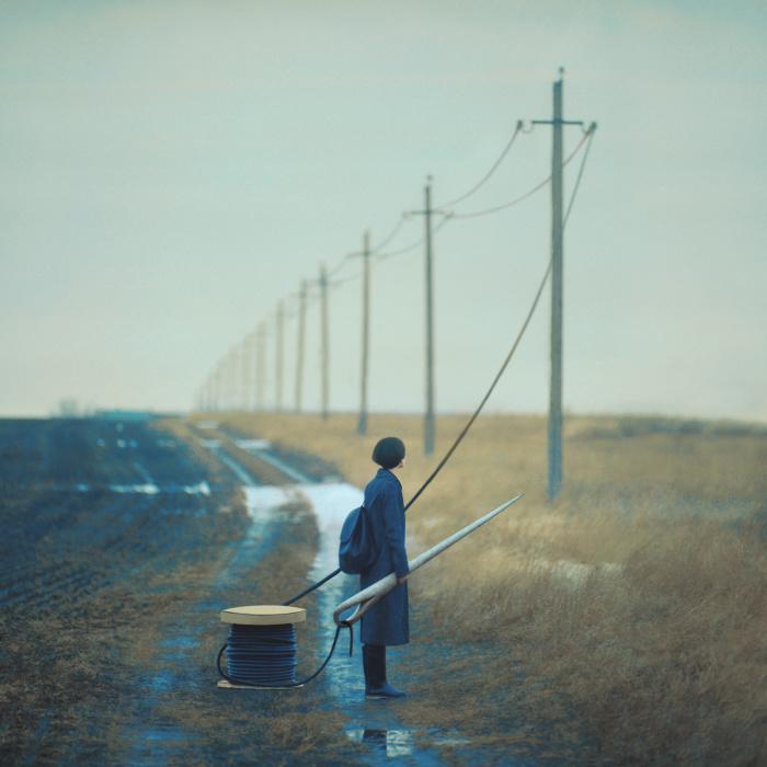 Fil tendu © Oleg Oprisco