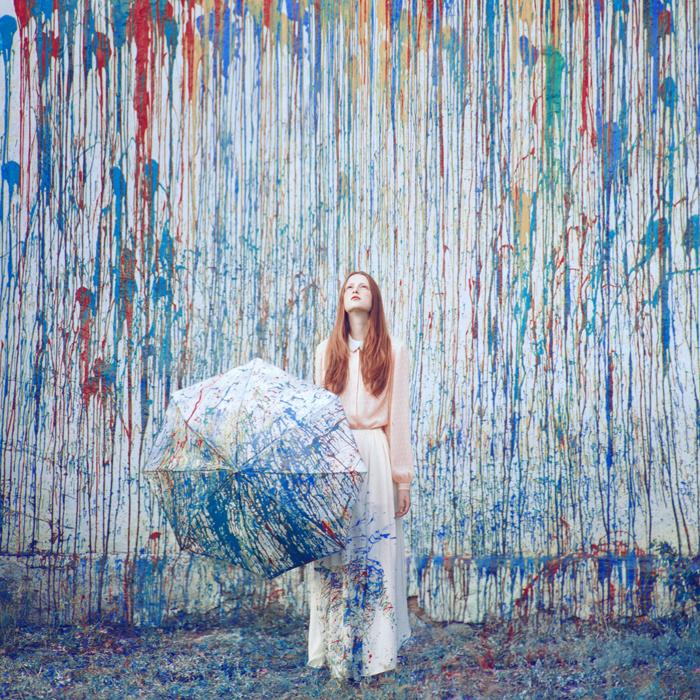 Pluie de peinture © Oleg Oprisco