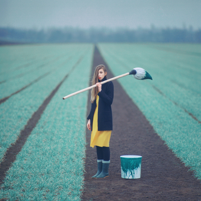 Le champ © Oleg Oprisco