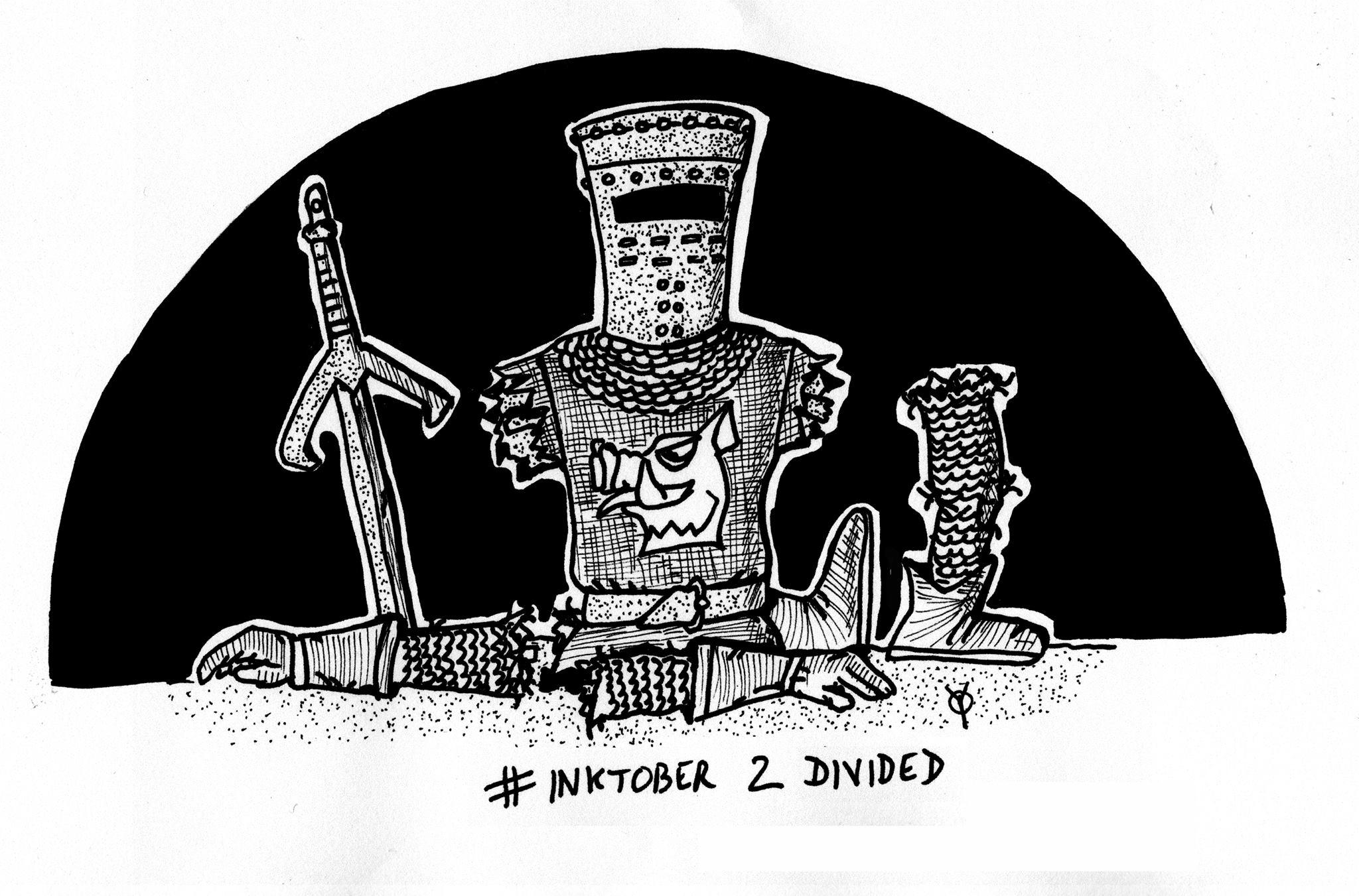 Divisé (Monty Python) © Philippe Defosse